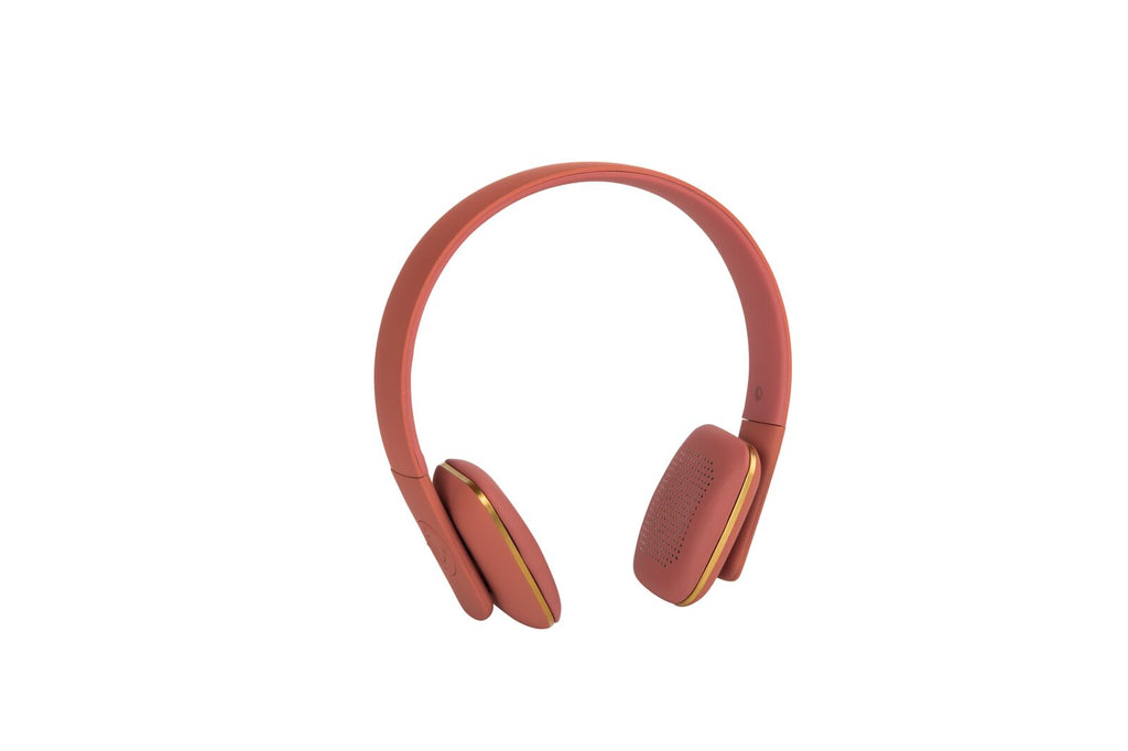 Kreafunk aHEAD BT headset soft coral
