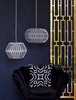 Lampshade black medium og large fra Gate Noir - Fransenhome