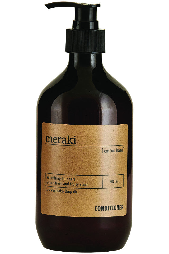 Meraki hårbalsam Cotton Haze volume 500 ml.