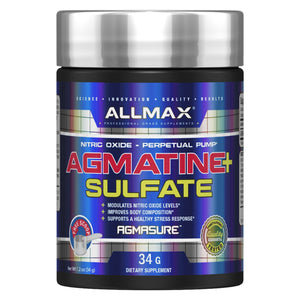 Allmax Agmatine Sulfate 34g-HERC'S Nutrition Online
