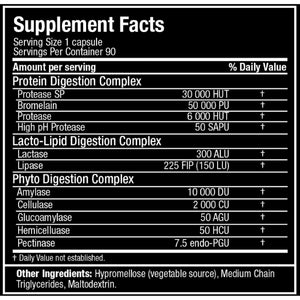 Allmax Digestive Enzymes 90 ct-HERC'S Nutrition Online