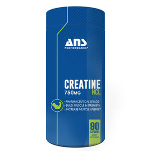 ANS Creatine HCL 90 capsules-HERC'S Nutrition Online