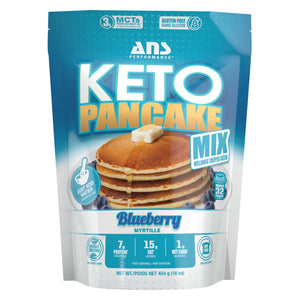 ANS Keto Pancakes 1lb Blueberry-HERC'S Nutrition Online