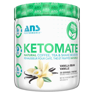 ANS Ketomate Natural Vanilla Bean-HERC'S Nutrition Online