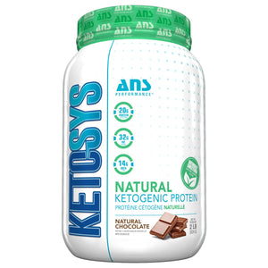 ANS Ketosys Natural 2lb Chocolate-HERC'S Nutrition Online