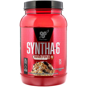 BSN Syntha-6 2.59lb Cold Stone-HERC'S Nutrition Online