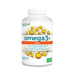 Genuine Health Omega+ JOY 240 softgels-HERC'S Nutrition Online