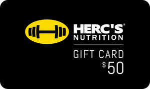 HERCs Nutrition Gift Cards-HERC'S Nutrition Online