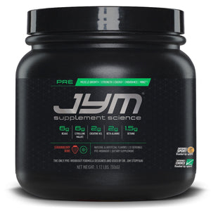 JYM Pre-Workout 20 serving-HERC'S Nutrition Online