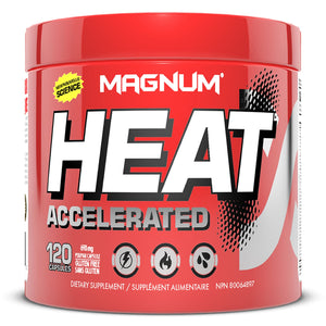 Magnum HEAT Accelerated 120 capsules-HERC'S Nutrition Online