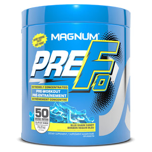 Magnum PreFo 50 serving Blue Sharks Candy-HERC'S Nutrition Online