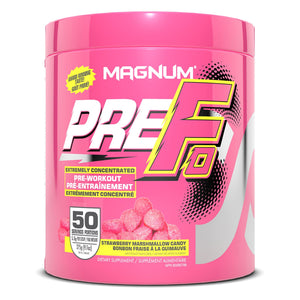 Magnum PreFo 50 serving Strawberry Marshmallow Candy-HERC'S Nutrition Online