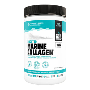 North Coast Naturals Boosted Marine Collagen 250g Unflavored-HERC'S Nutrition Online
