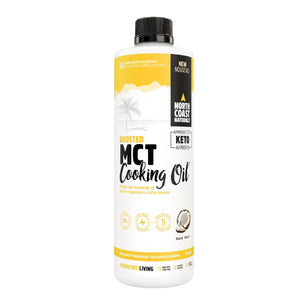 North Coast Naturals Boosted MCT Cooking Oil 473ml-HERC'S Nutrition Online