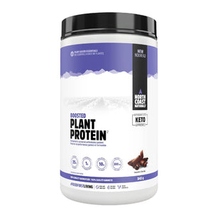 North Coast Naturals Boosted Plant Protein 840g Chocolate-HERC'S Nutrition Online