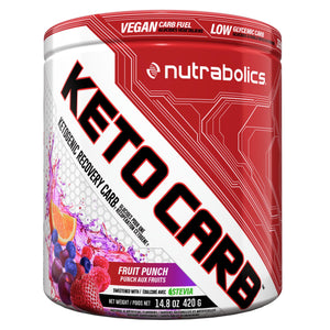 Nutrabolics KetoCarb 420g Fruit Punch-HERC'S Nutrition Online