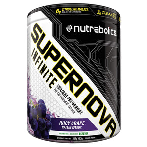 Nutrabolics Supernova Infinite 292g Juicy Grape-HERC'S Nutrition Online