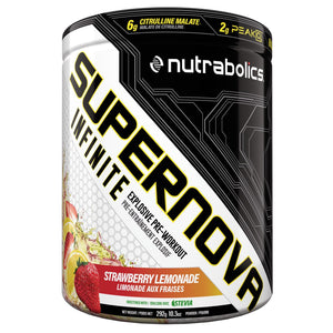 Nutrabolics Supernova Infinite 292g Strawberry Lemonade-HERC'S Nutrition Online