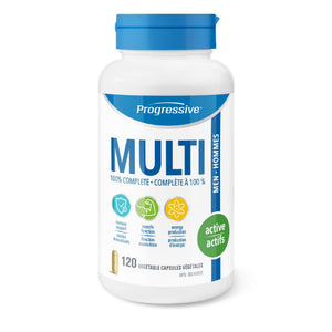 Progressive Multi Active Men 120 capsules-HERC'S Nutrition Online