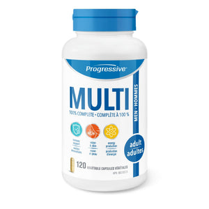 Progressive Multi Adult Men 120 capsules-HERC'S Nutrition Online