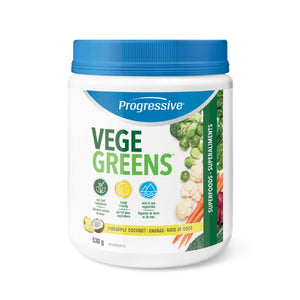 Progressive VegeGreens 530g Pineapple Coconut-HERC'S Nutrition Online