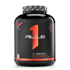 Rule1 Whey Isolate 76 servings-HERC'S Nutrition Online