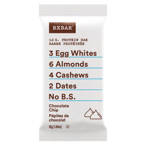 RX Bar Chocolate Chip single-HERC'S Nutrition Online