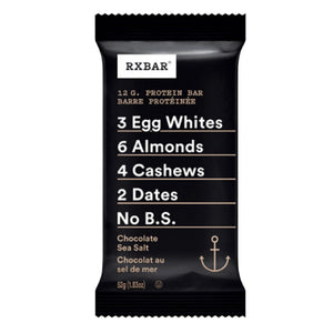 RX Bar Chocolate & Sea Salt single-HERC'S Nutrition Online