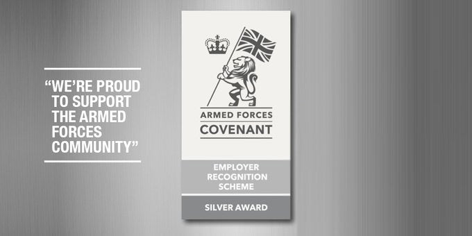 Ammo & Company receives Silver award for the Armed Forces Covenant