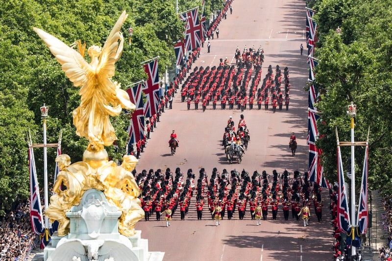 11. Preobrajensky March - Royal Artillery Slow March - The Life Guards - The Blues and Royals - The Royals -- Mounted Troops March Past