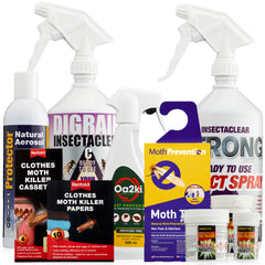 Clothes Moth Killer Products - Repellents, Sprays and Treatments