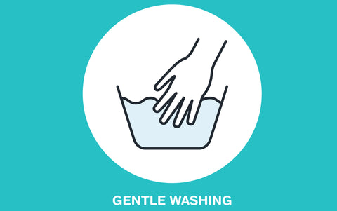 gentle washing