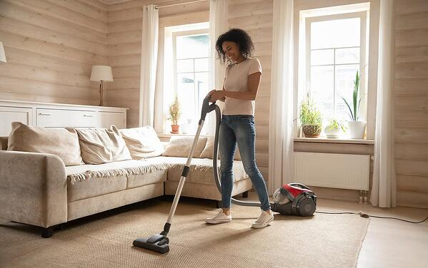 vacuum your carpets