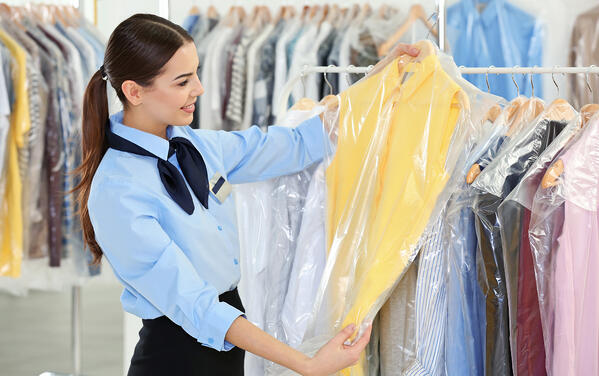 clothes to be dry cleaned