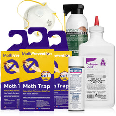 clothes moth killer kit
