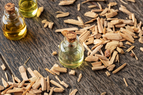 cedar chips and oil