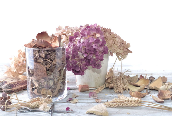 potpourri and dried flowers