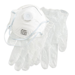 Protective Respirator Mask & FREE Gloves
