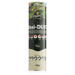 Desi-Dust - Natural Diatomaceous Earth - 500g - Non Toxic Moth Powder
