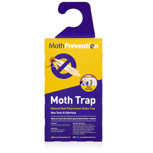 Moth Prevention Moth Trap - Wardrobe protection from clothes moths