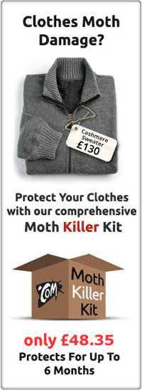 Clothes Moth Killer Kit Large Infestation Mothprevention