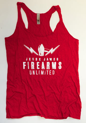 JJFU Ladies Tank – Heather Red