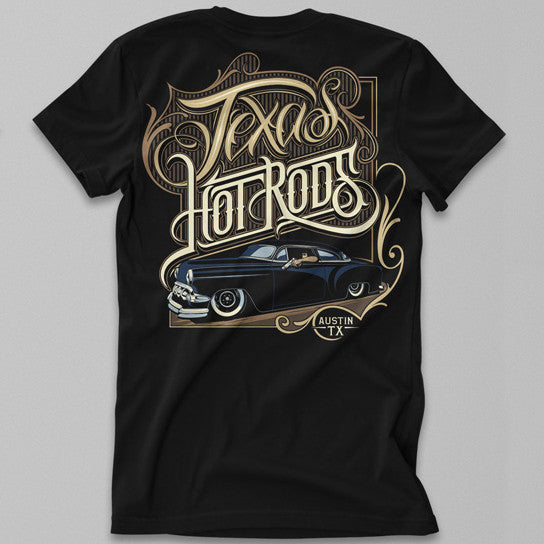 Texas Hot Rods Drive-By Tee
