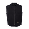 JJW Classic Canvas Insulated Workvest - Black