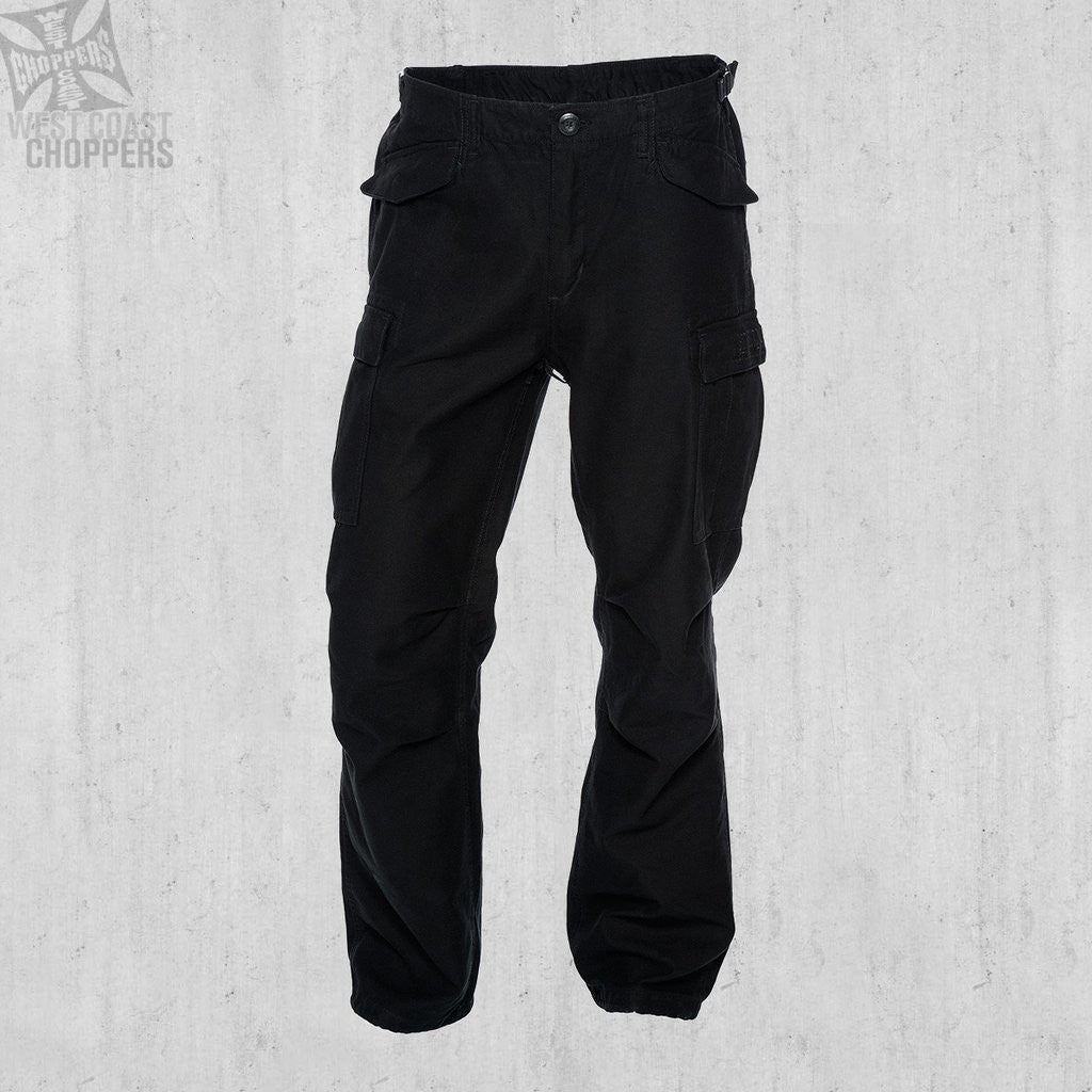 WCC M-65 Cargo Pants - Black