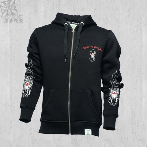 Spider Zip Hoody