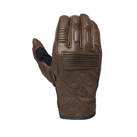 BFU riding glove tobacco brown