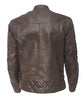 Dominator Riding Jacket - Tobacco Brown