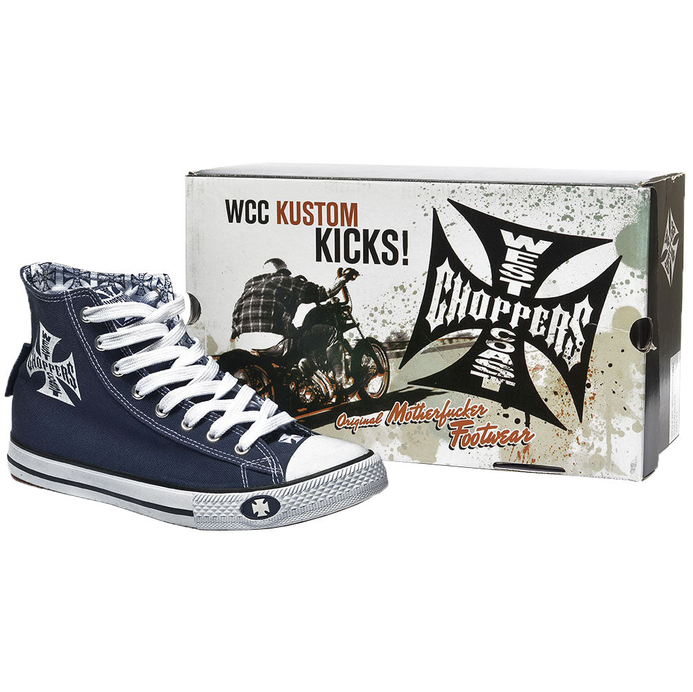 Warriors Hi-Top Navy