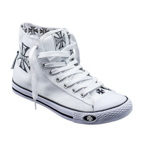 Warriors Hi-Top White
